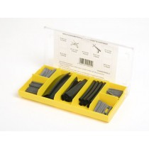 Kit gaines thermo-retractibles 63 pièces