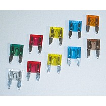 10 Mini Fusibles cavaliers