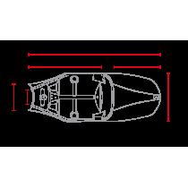 C RACER Coque pour Triumph Bonneville avec sellerie noire SCRBON