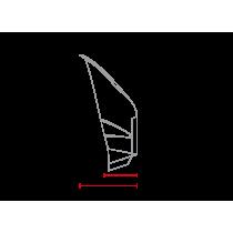 Saut de vent / bulle Café Racer classique universelle MCR3 abs