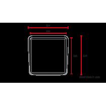 Plaque phare / numéro universelle MCR5 abs