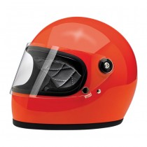 Biltwell Gringo S Gloss Hazard Orange ECE  Biltwell Accueil