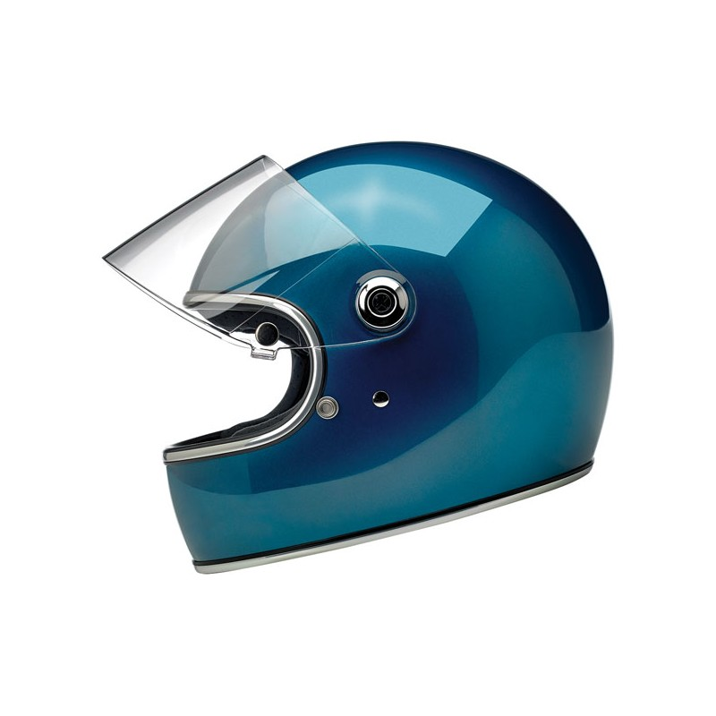 Biltwell Gringo S Gloss Pacific Blue ECE  Biltwell Accueil