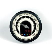 Compteur Motoscope Speedster noir