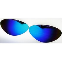 mod. 4600 Verres de rechange mirroir bleu