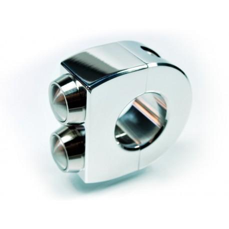 Motogadget m-Switch poli (1 pouce) 2 boutons