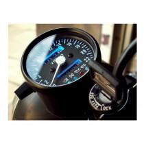 Compteur vitesse + témoins NOIR