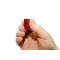 Ar. Cube-V (rouge/fumé)