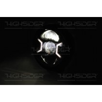 Highsider HD typ2 (full LED) noir ou chrome
