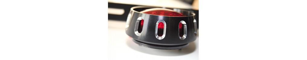 Feux arrières ronds LED